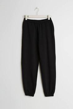 Basisplagg - Grunnleggende plagg på nettet - Gina Tricot Gina Tricot, Summer Looks, Sweatpants, Black, Fashion, Moda, Summer Fashions, Black People, Fashion Styles