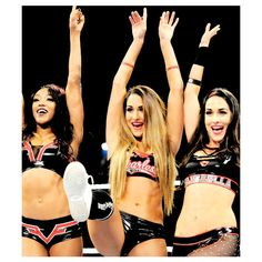 Today is finally the day! Our girls N & B are returning tonight at my heart is exploding right now. Brie Bella Wwe, Nikki And Brie Bella, Female Wrestlers, Wwe Wrestlers, Bella Diva, Wwe Girls, Wwe Champions, Wrestling Divas, Wwe Womens