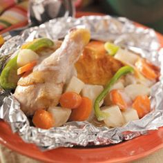 Campfire Chicken Stew