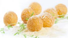 France To The East by Anais  Camembert cromesquis (crumbed camembert balls)