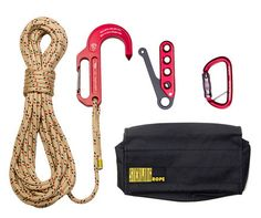 Sterling Rope EscapeTech Kit with Lightning GT Hook Fire Equipment, Survival Equipment, Survival Tools, Survival Prepping, Homestead Survival, Camping Equipment, Tactical Survival, Tactical Gear, Firefighter Tools