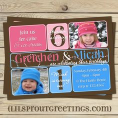80 Best Twin Birthday Party Themes Images Fetes D Anniversaire