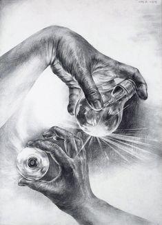 Anatomy Sketches, Anatomy Drawing, Anatomy Art, Drawing Sketches, Pencil Drawings, Art Drawings, Shading Drawing, Life Drawing, Wolf Painting