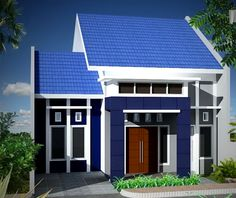 Home and Equipment: Desain Rumah Minimalis Satu Lantai Untuk Lahan Minim