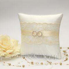 PODUSZKA na obrączki Kremowa Koronka #slub #wesele #sklepslubny #slubnezakupy #dekoracje Throw Pillows, Toss Pillows, Cushions, Decorative Pillows, Decor Pillows, Scatter Cushions