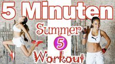 Extreme Fatburn 5 Minute Workout - Tabata Style - SOS Summer Shred