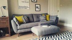 Modern Sofa Design: A Perfect Choice for Your Living Room Living Room Sofa, Home Living Room, Living Room Designs, Living Room Decor, Bedroom Sofa, Vintage Sofa, Corner Sofa Lounge, Grey Corner Sofa, Kitchen Sofa