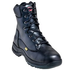 67440578bdb7 Iron Age Boots  Men s Black Steel Toe Metatarsal Guard EH Work Boots  IA6880