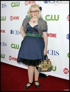 """Kirsten Vangsness (alias Penelope Garcia) joue dans """"Esprits Criminels"""""""