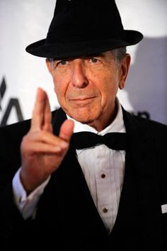 I'm your man. Leonard Cohen