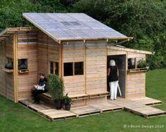 Pallet House: come costruire una casa ecologica spendendo meno di 100€