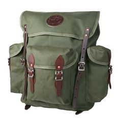 Wanderer - Backpack :: Duluth Pack :: Made in the USA :: Quality leather and canvas luggage, backpacks, camping, and outdoor gear,