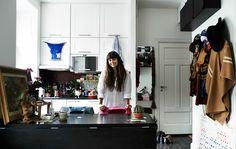 Potret właścicielki Nor w jej kuchni