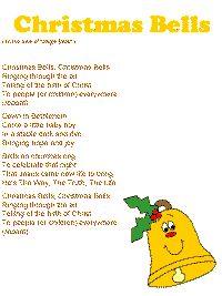 Christmas bells to tune of Jingle Bells Christmas Songs For Toddlers, Preschool Christmas Songs, Christmas Skits, Christmas Bible, Christmas Program, Christmas Concert, Preschool Songs, Childrens Christmas, Toddler Christmas