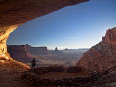 Travel Inspiration:  False Kiva, Utah