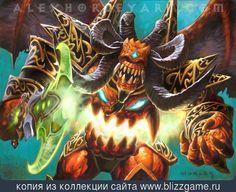 Doomguard Devastator by Alex Horley » Галерея » World of Warcraft