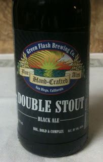 Double Stout Black Ale from Green Flash Brewing Company