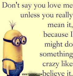 Funny Minions Quotes & Minions Love Quotes Images | Quotes & Wishes