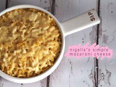 Nigella Lawson's Simple Macaroni Cheese