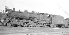 L&N RR 2-8-2 locomotive #2400