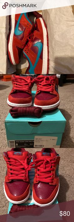 Nike sb low  brick house Only wore once. Is in good condition. Nike Shoes Sneakers