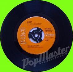 Sweet The Six Teens  LPBO-5037EX  Glam Rock Winyl