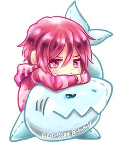 Free! ~~ Cuddling chibi series :: Rin