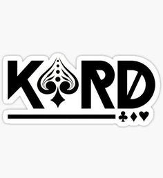 KARD Logo Sticker