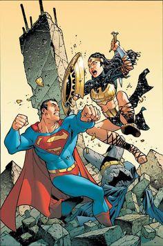 Superman/Batman #15 cover by Carlos Pacheco & Jesus Merino