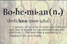 there's some things i like of the bohemian, but some things i don't..bohemians need community and accountability like everyone else! :)