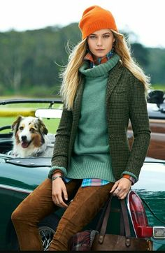 Comfy, relaxed. Ready for fall tweed.