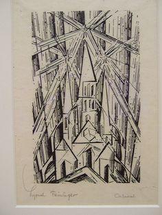 lyonel feininger cathedral