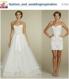 I want a detachable dress :-)