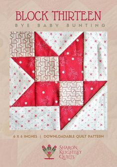 Scrappy Quilt Patterns, Sampler Quilts, Nancy Zieman, Star Quilt Blocks, Block Quilt, Tim Holtz, Snowman Quilt, Two Color Quilts, Red And White Quilts
