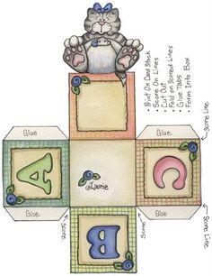 A B C block