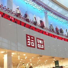 UNIQLO is officially open at the #CentreOfStyle #YorkdaleStyle @uniqlocanada