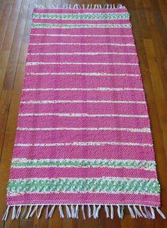 Handwoven Rag Rug | MirandasLoom