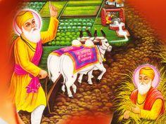 Guru Nanak gave a message of love, tolerance, peaceful coexistence and sincere concern for all of humanity, the environment and all creatures and beings. Guru Angad Dev Ji, Guru Nanak Ji, Nanak Dev Ji, Guru Nanak Teachings, Guru Nanak Wallpaper, Shri Guru Granth Sahib, Human Well Being, Punjabi Culture, Kundalini Yoga