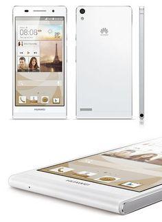 Huawei Ascend P6 #tecnologia #huawei #blogtecnologia #tablet #bq #edison #tabletoferta #tabletbarata