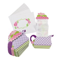 Tea Party Invitations - OrientalTrading.com
