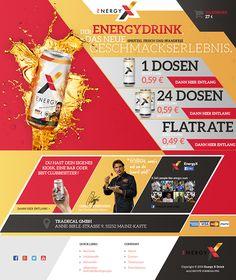 ENERGYX energy drink