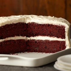 The classic Red Velvet Cake gets a gluten-free makeover. Your celebration deserves a cake as special as this one.