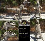 Velociraptor Fullsuit 1 по Monoyasha