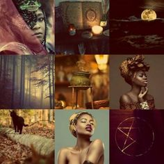 The Aesthetic of the Black Witch  African Witch Things  Pic From: Tumblr  ThePathofaGoddess.etsy.com
