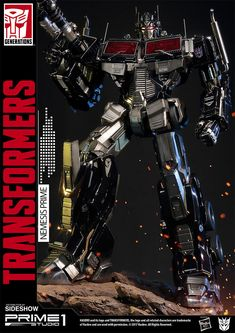 Transformers Nemesis Prime Transformers Generation 1 Statue by prime 1 Studio