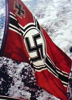 Kreigsmarine Navy Flag