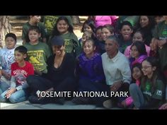 President Obama and First Lady Celebrate National Parks with Kids