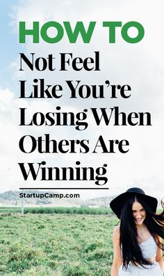 How to Not Feel Like You're Losing When Others Are Winning -   Man, we've all been there.
