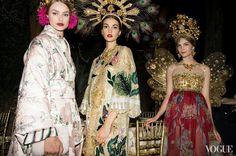Dolce & Gabbana Alta Moda Fall 2015 Haute Couture