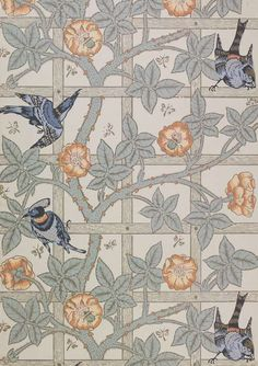 Серия V&A Pattern - узоры из коллекции музея Виктории и Альберта - Перемена участи